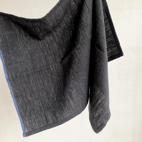 OG 2×1 Khaki kitchen Towel   /  charcoal