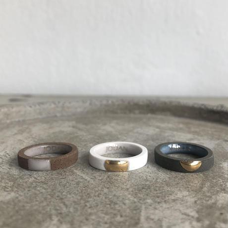 JODAN.  aroma ring : light beige  / half moon