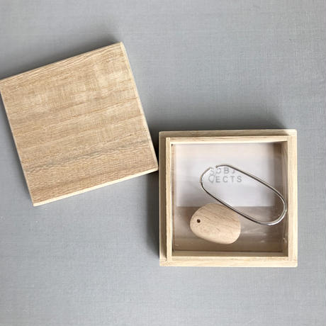 SO / OBJECTS   wood circle cuff ( 片耳 )