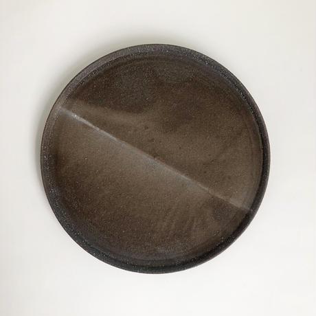 大和田 友香  / プレート ( 6寸 )    緋色