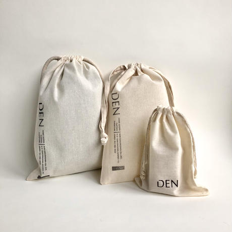 DEN  / Drawstring  pouch    S