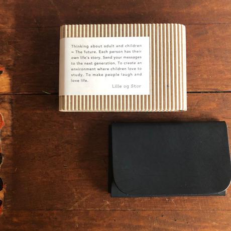 Lille og Stor  /  kort  ( card case )