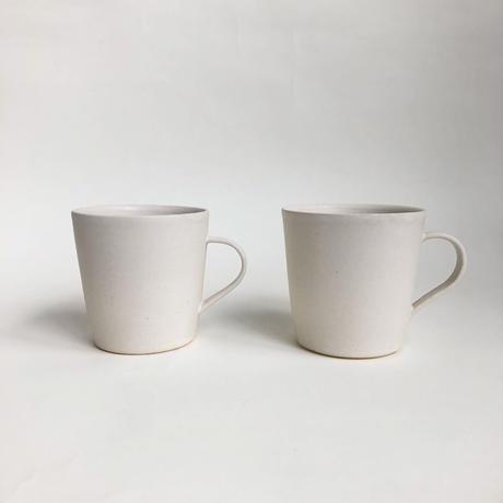 大和田 友香  /  マグカップ    白マット