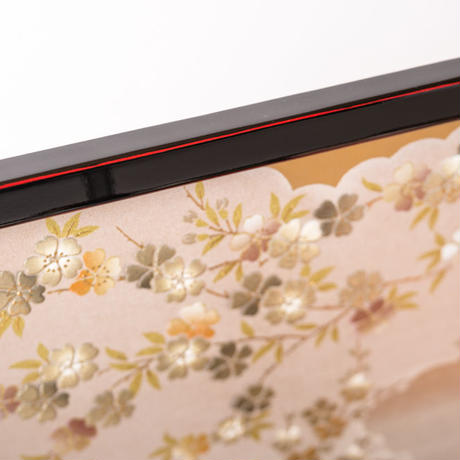 京十一番親王飾「蘇刺繍流水牡丹」※web限定商品