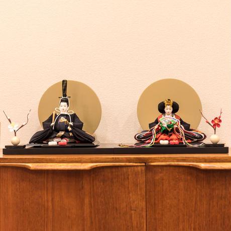 京十一番親王飾「手刺繍:玩具絵図」