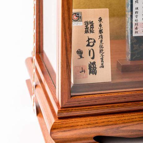 16号 折り鶴:桜華ケース飾り