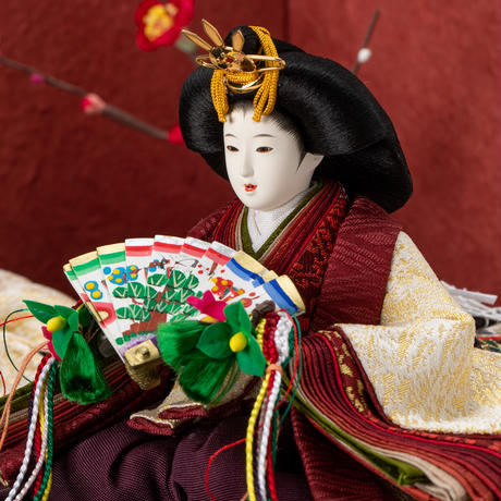 京十一番親王MARU飾「龍村裂:菊もみ(金)」