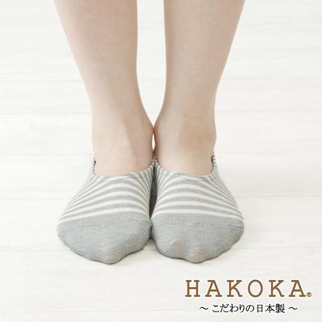 HAKOKA(ハコカ)ボーダーフットカバー