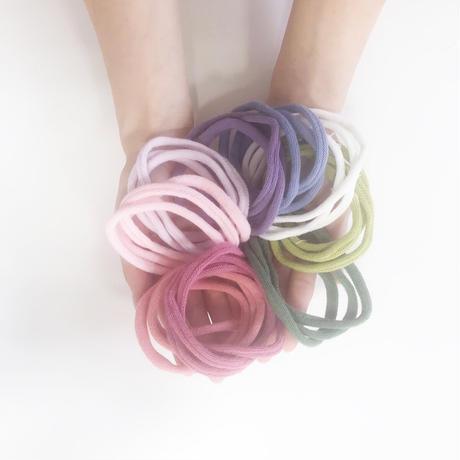 靴下工場で作った靴下の輪っか50p