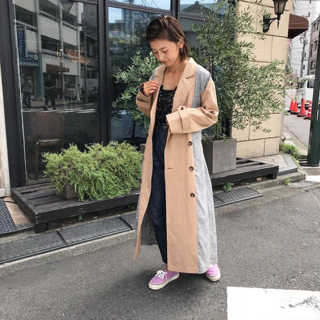 <ADIRA>crazy pattern trench coat AR183JK02