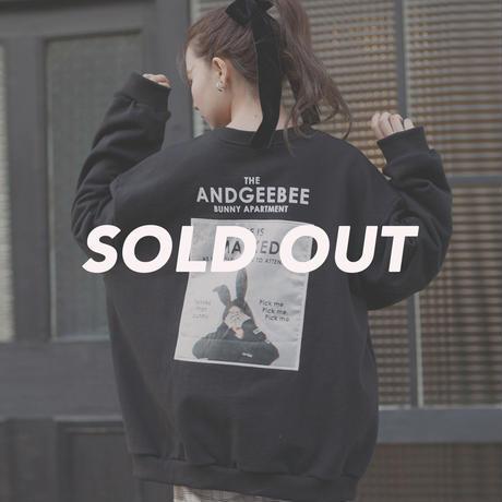 <ANDGEEBEE>【UNISEX】バニースウェット AG191CS93