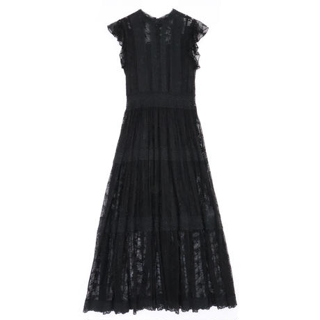 <ADIRA>embroidery tulle longdress AR181OP03