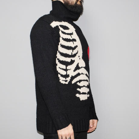 Yohji yamamoto pour homme / FW2011 High neck apple and bone Knit