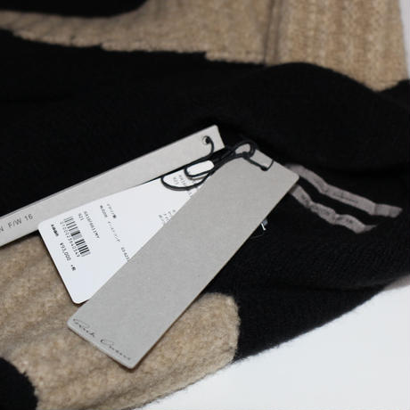 Rick owens / AW16 MAGLIA SWEATER SHORT