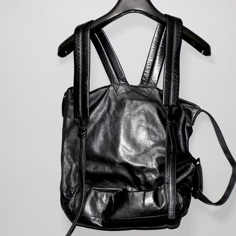 Yohji yamamoto pour homme / 18AW 2 way leather bag