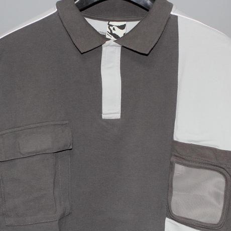 GR10K / SS20 Badge holder LS 3M polo shirt