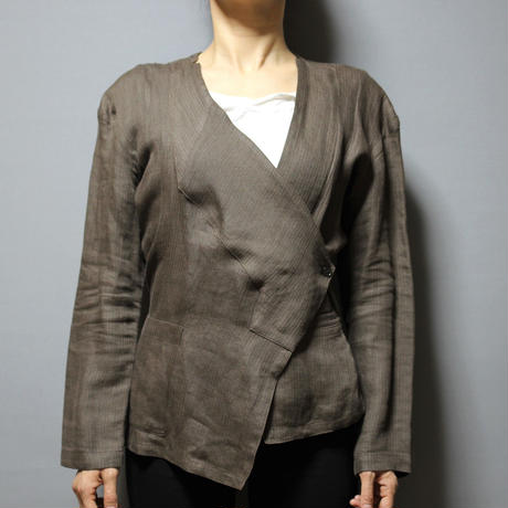 80's Yohji yamamoto / Linen kimono jacket