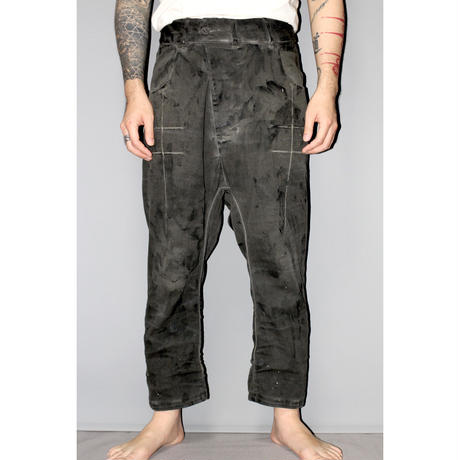 BORIS BIDJAN SABERI / SS18 Cropped jeans P15 ( One and only ! )
