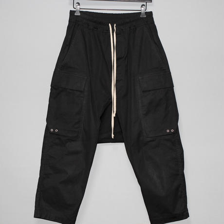 Rick owens / AW19 CARGO CROPPED PANTS