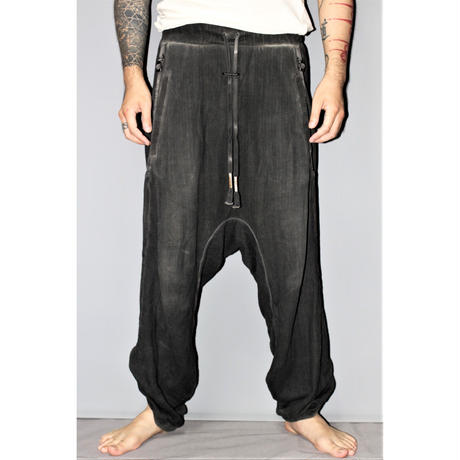 BORIS BIDJAN SABERI / Adjustable jogger Pants P9