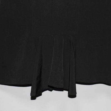 Yohji yamamoto pour homme / SS20 Tuxedo back flare vest