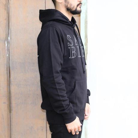 SANG BLEU / SB EURO HOODED SWEATER BLACK