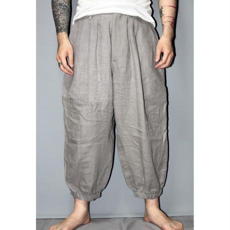 Yohji yamamoto pour homme / SS17 Linen wide pants (Look 11)