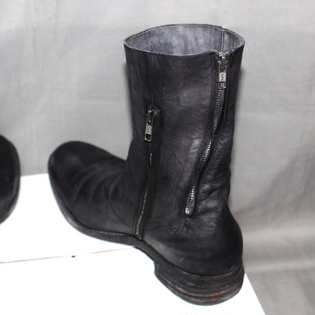 A1923 (A DICIANNOVEVENTITRE) / ST3 DOUBLE ZIPPER BOOTS