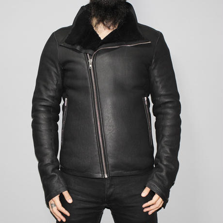 Rick owens / FW14 MOODY BAUHAUS Shearling leather jacket