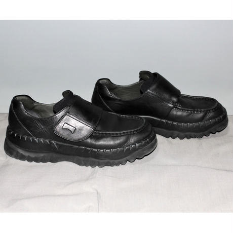 KIKO KOSTADINOV x CAMPER / Black leather sneakers