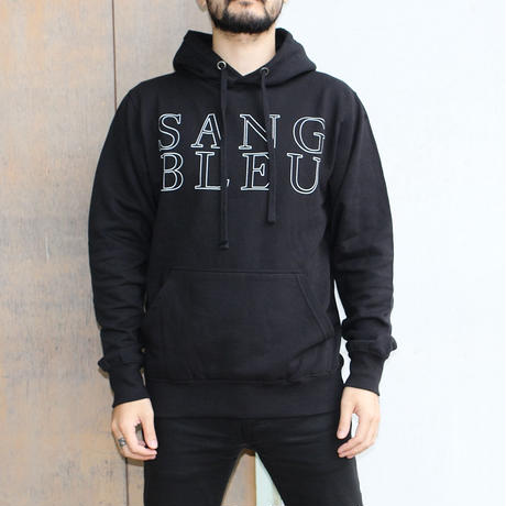 SANG BLEU / SB EURO HOODED SWEATER BLACK