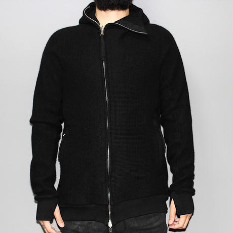 BORIS BIDJAN SABERI / Cashmere zip up hoodie / ZIPPER 2