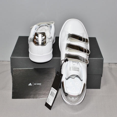 RAF SIMONS x adidas / FW16 Stan smith CF (White x Silver)