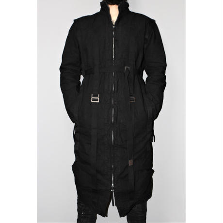 BORIS BIDJAN SABERI / Adjustable long coat PARKA2
