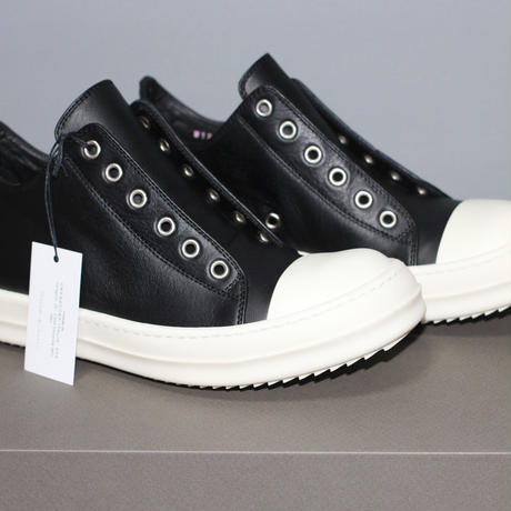 17AW Rick owens / RAMONES Low leather sneakers