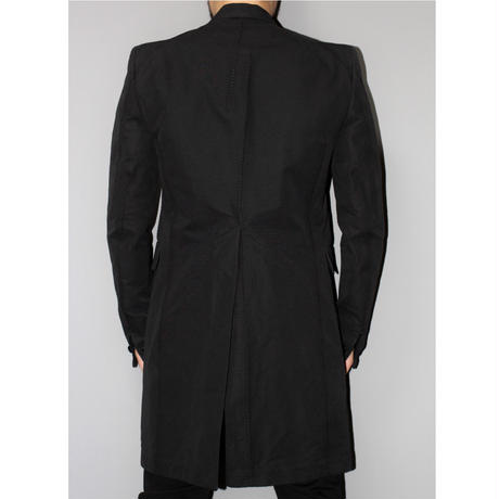 CAROL CHRISTIAN POELL / 18AW Visible meltlock one-piece long jacket / Frock coat
