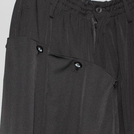 Yohji yamamoto pour homme / 21SS Eye button covered drop crotch pantys