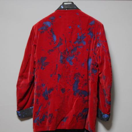Needles x Velvet Shimokitazawa / One and only hand painted velour  jacket