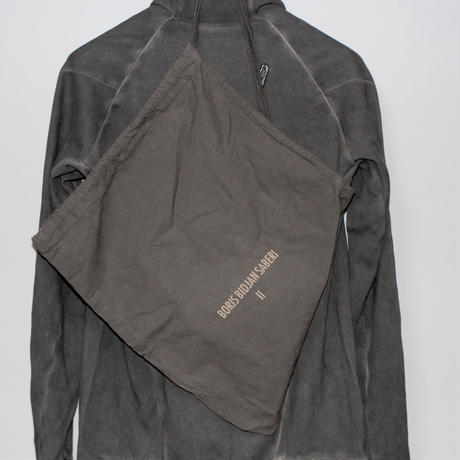 BORIS BIDJAN SABERI / Drape high neck sweat PULL2