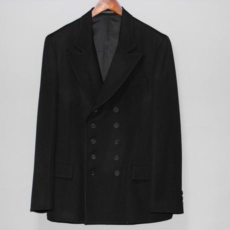 Yohji yamamoto pour homme / 19AW Old wool gabardine Double Jacket
