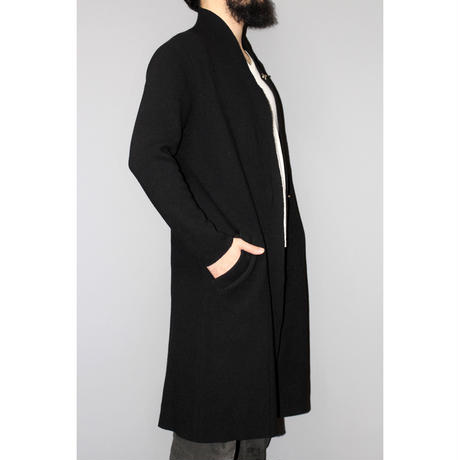 Atelier Aura / Raw cut knit coat