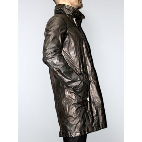 CAROL CHRISTIAN POELL / UNLINED CHAINSEAM DISPARATE SEMI ARMHOLE GLOVED PARKA