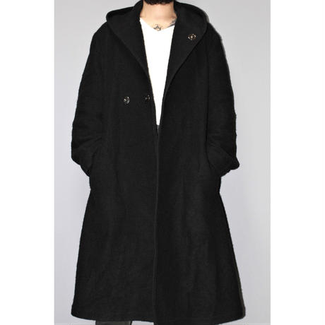 Regulation Yohji yamamoto MEN / 18AW Wool hooded long coat
