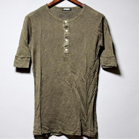 BALMAIN HOMME / Linen T-shirt