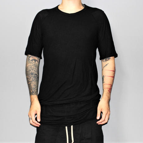 BORIS BIDJAN SABERI / Double layered T-shirts /  TS4