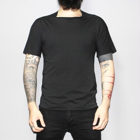 M.A+ by Maurizio amadei / Square neck T-shirt