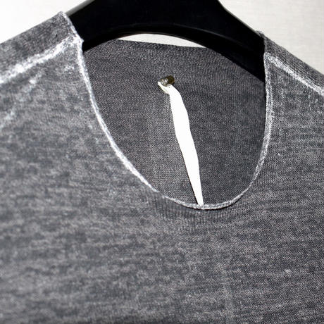 SS15 LABEL UNDER CONSTRUCTION / PRINTED IN-SIDE BAND SWEATER