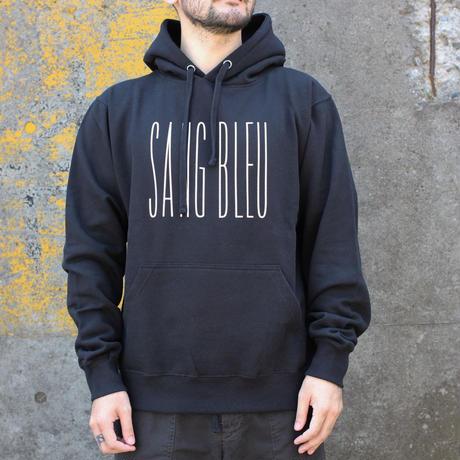 SANG BLEU / SB BRAND HOODIE