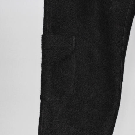 Yohji yamamoto pour homme / 18AW Wool side pocket wide pants
