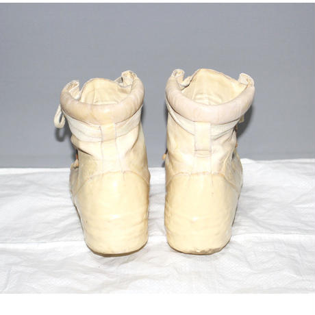 CAROL CHRISTIAN POELL /  Object dyed, No seam drip rubber sneakers